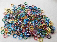 T1oz 18 GAUGE MULTI COLOR ANODIZED ALUMINUM CHAINMAIL JUMP RINGS  #179A