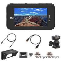 FOTGA 5 inch HD Touch Screen Director Video Monitor Camera Live Top SDI Monitor