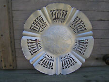VINTAGE HAND WROUGHT ALUMINUM TRAY 1761 from FARBER & SHLEVIN INC