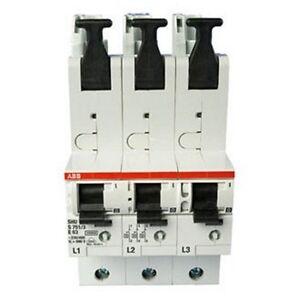 SLS Schalter Hauptschalter selektiver Leitungsschutzschalter ABB 35A S751/3-E35