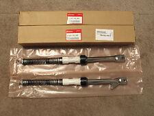 Honda Z50 All Models NEW Fork Set OEM COMPLETE 51500-165-000 and 51400-165-000