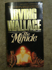 The Miracle by Irving Wallace (1985, Paperback) store#771B