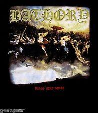 BATHORY cd cvr BLOOD FIRE DEATH Official SHIRT XL new