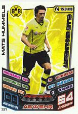 """Match Attax 2013/14:"""" Mats Hummels - 337 - Club Einhundert"""