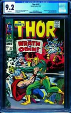 Thor 147 CGC 9.2 -- 1968 -- Loki Thor Battle cvr Odin Kree Inhumans #2035308022