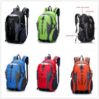 50L Travel Hiking Backpack Waterproof Shoulder Bag Pack Outdoor Camping Rucksack