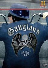 GANGLAND SEASON SIX 6 New Sealed 3 DVD Set