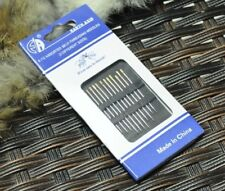 Self-threading Needles 48 Pack Assorted Sizes Thread Sewing Stitching Pins