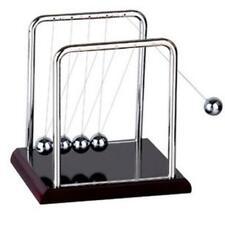 Newtons Cradle Fun Steel Balance Ball Physics Science Pendulum Desk Toy Kids