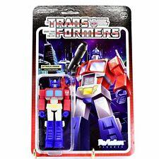 Optimus Prime Transformers Super 7 ReAction Action Figure New