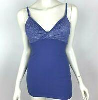 Lululemon Purple Tank Top Built-in bra Stretch Yoga Gym Run Workout Women 8