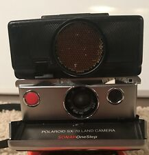 Polaroid SX-70 Land Camera with Accessory Kit  (H 1040)