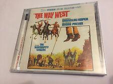 THE WAY WEST (Kaper) OOP Ltd (1200) Intrada Score OST Soundtrack CD SEALED