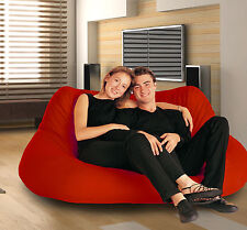 2 Seater RED bean bag