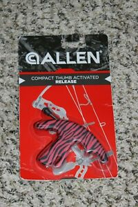 Allen Compact Thumb Activated Release NEW #15396A Pink & Black