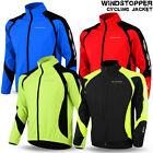 Cycling Jacket Windstopper Winter Thermal Fleece Windproof Long Sleeve Bike Coat <br/> Windstopper Fabric With Fleece Linning IDEAL FOR WINTER