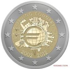 "PORTUGAL: SPECIALE 2 EURO 2012 UNC: ""10 JAAR EURO"""