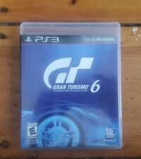 Gran Turismo 6 (Sony PlayStation 3 Ps3) - Case & Disc - Free Shipping Vg+ Cond