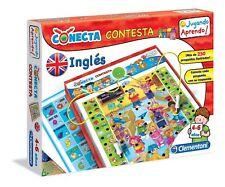 Clementoni 65381. Conecta Contesta. Jugando aprendo. Inglés. De 4 a 6 años