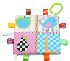 Baby Sensory Blanket Teething Ribbon blanket For Infant Soft Bedding New 1 pc