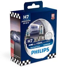 Philips RacingVision H7 bis zu 150% mehr Licht Halogenlampe 12972RV+S2 Duo