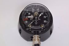 Wika Process Pressure Gauge Alarm Contact, 0-90 PSI 4-1/2''