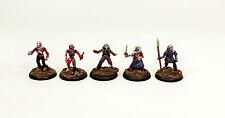 28mm Pro-Painted Classic Fantasy Undead-Zombie Warriors Set-VNT11-5 Miniatures