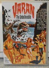 Varan the Unbelievable (DVD, 2015) RARE 1962 SCI FI HORROR THRILLER BRAND NEW