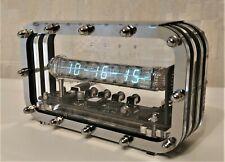 Nixie clock nixie tube clock homemade handmade tubes VFD ICE adidas style clock