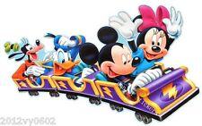 Nouveau Disney Mickey mouse Minnie Donald Pluto Mur Chambre Autocollant Grand 85 x 53 cm
