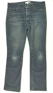Trenery Womens Blue Denim Jeans Size 10 - Free postage