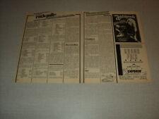 T584 LE ROCK POLL 82 WHITESNAKE '1983 BELGIAN CLIPPING