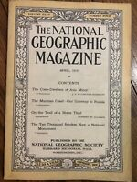National Geographic Magazine - April 1919 - The Cone-Dwellers Of Asia Minor