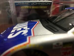 2003 Jimmie Johnson RARE CHASE car Lowes Authentic Driver FIRESUIT 1 of 50 RC