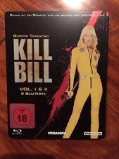 Kill Bill (Blu Ray Embossed Steelbook, German, Region Free)