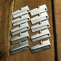 10 Pc Lot US Shelby Original Military Issue P-38 Survival Can Opener P38