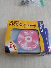 Memorex KICK-OUT Cd Dvd Cases10 count multi colors