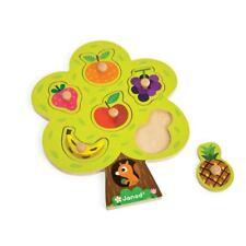 Janod Arbre Fruitier Gros Puzzle En Bois 18-36mth