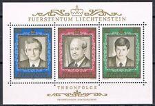 Liechtenstein 1988 blok 13 50-jarig jubileum prins Frans-Josef cat waarde € 6,50