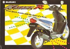 Suzuki AY50 GB Sales Brochure Katana AY50W Katana R 1998
