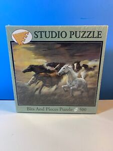 """Bits and Pieces Studio Jig Saw Puzzle 500 pieces 16"""" X 20"""" Ages 13"""