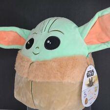 "New Release 2020 Kellytoy Squishmallows Disney 10"" Star Wars Baby Yoda The Child"