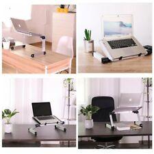 Laptop Table Computer Adjustable Desk Notebook Write Cooling Stand Riser Holder