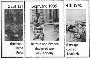 Pictorial Timeline: WORLD WAR 2 – KS2 History Resource