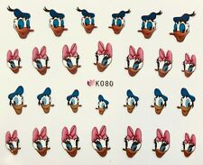 Nail Art 3D Decal Stickers Disney's Donald Duck & Daisy Duck K080