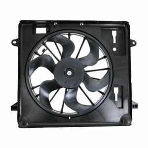 6 Blade Radiator Cooling Fan 55056642AB for Jeep Wrangler 3.8L with A/C
