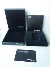 S.T Dupont Paris black empty lighter case
