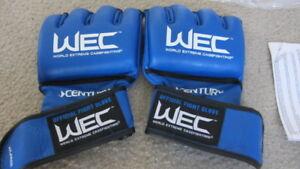 WEC Vintage Century Gloves UFC MMA Zuffa LARGE (L)