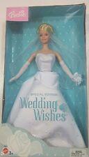 Barbie Special Edition Wedding Wishes Doll NIB B8883 Slight Wear to Box