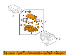 Buick GM OEM 2004 Rainier-Electrical Fuse & Relay Box 15120876